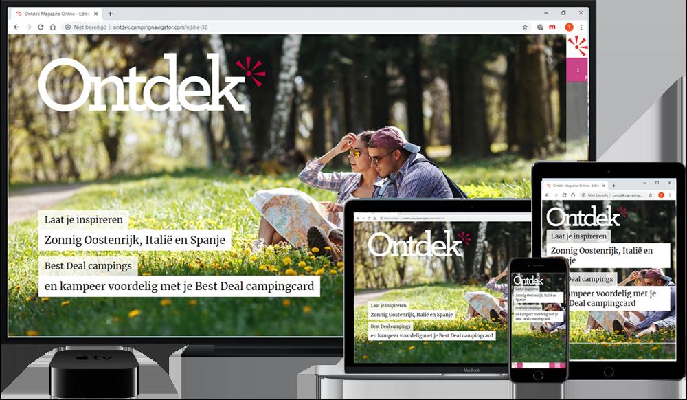 Ontdek magazine online